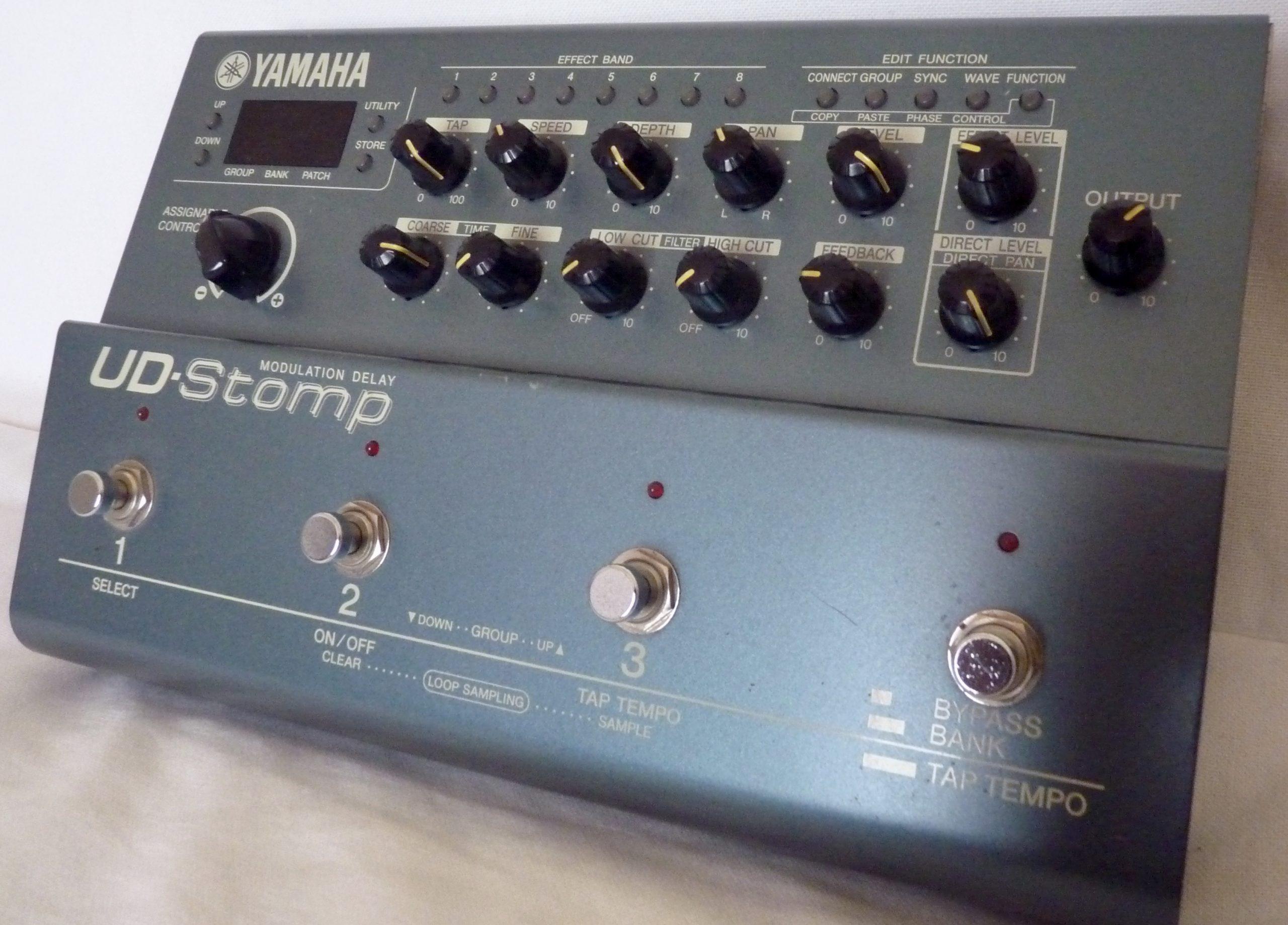 DEMO Yamaha UD Stomp Vidéo + Relevé PDF et GPXDEMO Yamaha UD Stomp Video + PDF and GPX Tab